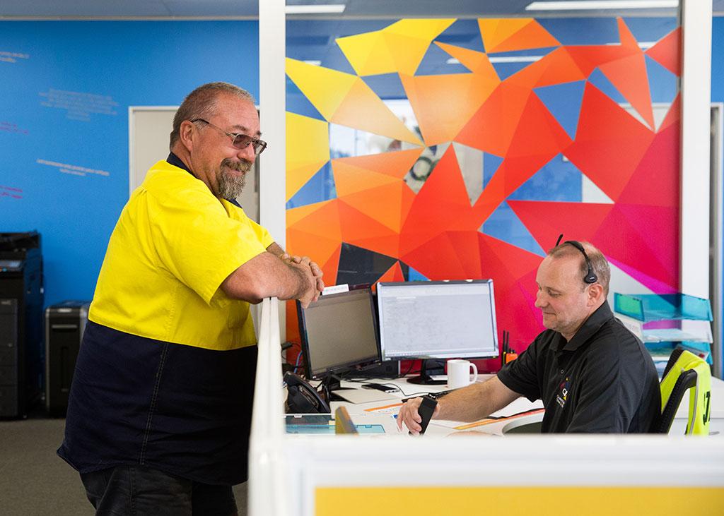 QSS customer service staff